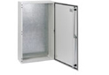 CS wall-mounted enclosure made of solid sheet steel